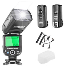 i-TTL LCD Display Flash Speedlite Kit with 2.4Ghz Wireless Trigger for Nikon