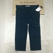 BURBERRY Boys velvet trousers jeans 3 years Gorgeous 100% Genuine BNWT