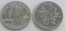 USA State Quarter 2009 Guam D unz.