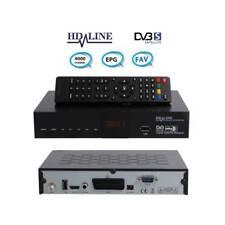 Digitaler Sat Receiver DVB-S DVB-S2 Satelliten-Receiver USB SCART ideal Astra
