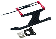 "Microheli Blade 130x Aluminum/Carbon Fiber Landing Gear ""I"" Style (RED) 130 X"