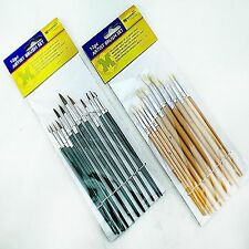 Art Paint Brushes Oils Hobbies Artists Sizes Brush Painting Set Kit Water