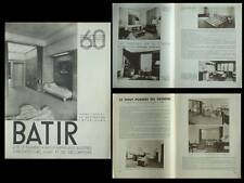 BATIR N°60 1937 GOVAERTS, VAN VAERENBERGH, ROBERT DECERF, CHARLES ROSEL, JASINKI