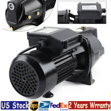1 Hp 750w Shallow Well Jet Pump Heavy Duty Water Pump With Pressure Switch 4000lh