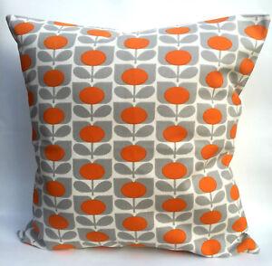 """Orla Kiely Tulip Flower Cushion Cover 14"""" 16"""" 17"""" or 18"""""""