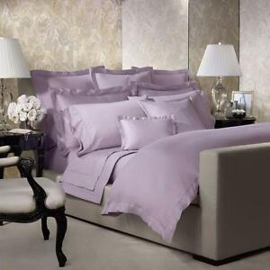 Ralph Lauren 624 Sateen Violet 5PC Queen  Duvet Cover Bedding Set New