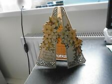 Victorian, Christmas Card, Stand-Alone, Folds Out, Original Glitter, Unusual