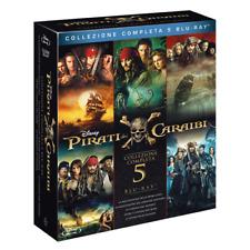 Pirati Dei Caraibi Collection 1-5 (5 Blu-Ray)  Blu-Ray Nuovo