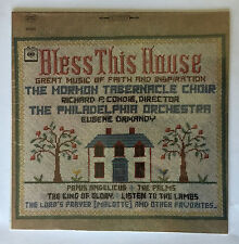 Mormon Tabernacle Choir Bless This House Colombia Stereo LP MS-6835 (M) Unopened