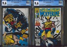 Marvel Comics Presents #117-118, CGC 9.6, Sam Kieth Wolverine Venom, Set of 2