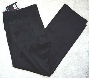 klassische festliche HOSE Anzughose schwarz glänzend EDEL-LOT Gr. 58 (182/110)