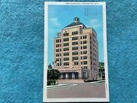 Park Place Hotel, Traverse City, Michigan Vintage  1937 Postcard