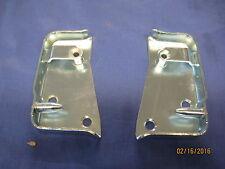 MG MGB MIDGET TRIUMPH PAIR DOOR LOCK CATCH STRIKER PLATES CZA3310 CZA3311 OB25/6