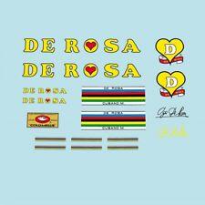 Rosa bicycle decals, Adesivi N.710