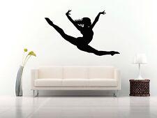 Wall Room Decor Art Vinyl Sticker Mural Decal Ballet Dance Women Ballerina FI393