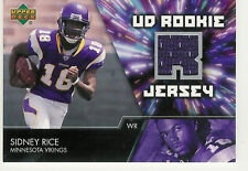 2007 UPPER DECK ROOKIE JERSEYS SINDEY RICE JERSEY RC