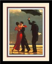 'SINGING BUTLER' Romance Couple Dance Triple Mat FRAMED - Jack Vettriano 19x23