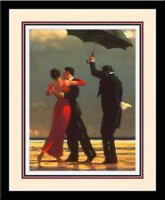 'SINGING BUTLER' Romance Couple Dance Triple Mat FRAMED - Jack Vettriano 19x23