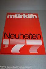 Märklin Neuheiten Katalog 1977 Spur H0