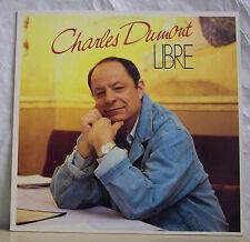 """33 tours Charles DUMONT Disque LP 12"""" LIBRE - PATHE EMI 1735181 Frais Rèduit"""