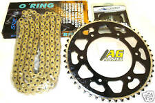 Yamaha WRF 250 01-08 Iris 520 O-Ring Chain & Sprocket Set 14T 49T Black