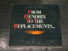 Echo & The Bunnymen OUT LOUD Simon F ICE-T PROMO CD From Hendrix To Replacements