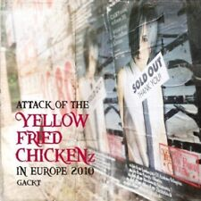 Gackt-Attack Of The Yellow Fried Chickenz (Live in Europe 2010) CD + DVD NEUF