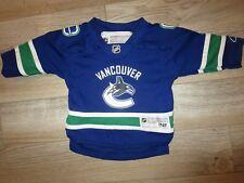 Vancouver Canucks NHL Reebok Jersey Toddler baby 12-24m