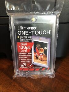 Ultra Pro One-Touch Thick Card 130pt Point Magnetic Card Holder