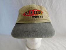 92.9 KISM FM Baseball Cap Dad Hat Strapback 2 Two Tone WA Bellingham