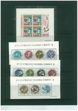 Japan Collection from 1963 onwards. Many Olympic Stamps and Minisheets