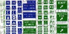 BLAIR LINE HO MODERN FREEWAY TRAFFIC SIGNS | 146