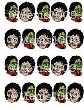 Michael Jackson Nail Art (water Decals) Zombie Nail Art. Thriller Nail Art