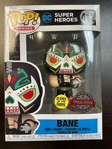 Funko Pop Bane Glow 412 DC Super Heroes Dia De Los Muertos