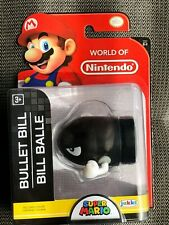 World of Nintendo Super Mario Wave Bullet Bill 2.5 Inch Mini Figure