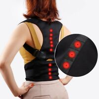 Adjustable Posture Corrector Clavicle Support Back Brace Shoulder Improve Belt