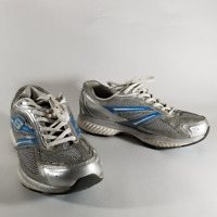 Skechers Shape-Ups Toners Women's White & Blue Walking Toning Shoes | Size 6.5