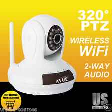 AVUE AVP562W Indoor Wireless or Ethernet PAN TILT ZOOM Security Baby Camera