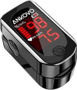 UK Pulse Oximeter Fingertip, Blood Oxygen Saturation Monitor Heart Rate Portable