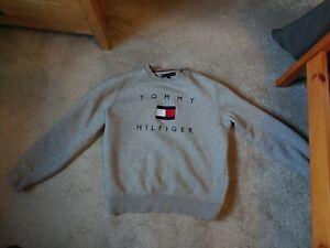 Tommy Hilfiger Men's Flag Sweatshirt THFlex (M/S) *mint*