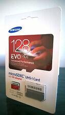 Samsung 128GB Class 10 Evo+ Plus MicroSD MicroSDXC Memory Card w/ Adapter, New