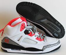 NIKE AIR JORDAN SPIZIKE iD WHITE-BLACK-HOT PINK SZ 12  [605236-996]
