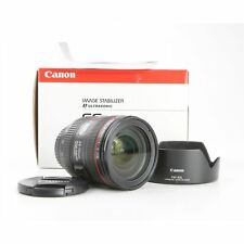 Canon EF 4,0/24-70 L IS USM + muy bien (231312)
