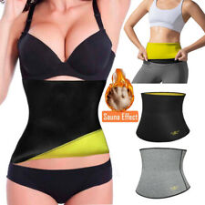 Hot Sweat Belt Waist Slimming Girdle Stomach Wrap Band For Gym Sessions Shapers