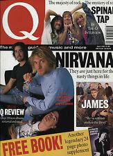 Q: April 1992 - Issue 67 - UK Music Magazine -  Nirvana, Spinal Tap, James