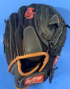 "HARDLY USED Rawlings LH125B Longhorn Baseball Fielders Glove 12.5"" CLEAN"