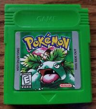 Pokemon Green English Repo Nintendo Game Boy Color GBC