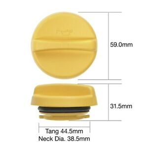 Tridon Oil Cap TOC541 fits Holden Astra 1.8 SRi (TR), 1.8 i (AH), 1.8 i (TR),...