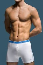 Ropa interior boxeres blanco para hombre con pack