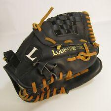 Louisville Slugger Baseball Glove L1050 Black Mitt 10.5 Inch Leather Palm